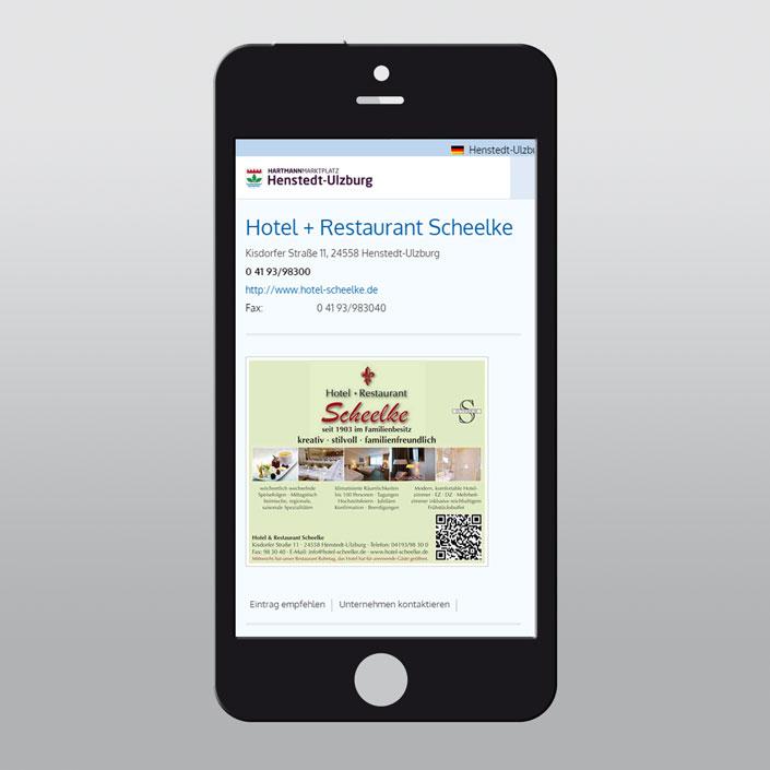 Hartmann-Marktplatz Details (Smartphone Version)